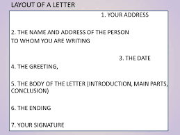 formal and informal letters elementary an informal letter u2013 a