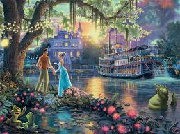 princess frog disney dreams jigsaw puzzle