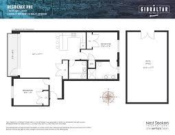 8 York Street Floor Plans by Gibraltar 160