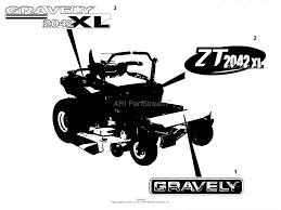 gravely 915112 000101 ztxl 2548 25hp kohler 48