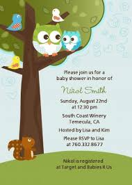 owl baby shower invitations boy owl baby shower invitations