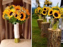 wedding flowers sunflowers 15 breathtaking affordable wedding flowers everafterguide