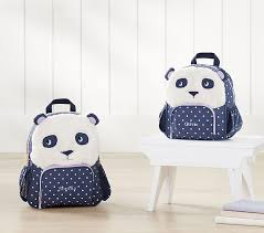 Pottery Barn Critter Chair Classic Critter Panda Backpack Pottery Barn Kids