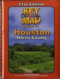 map houston harris county houston harris county atlas key map key maps inc