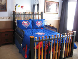 Boys Bed Frame Todler Boys Bed Design With Baseball Bedroom Themes And