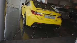 lexus rc 350 matte black matte yellow lexus rcf in belfast youtube