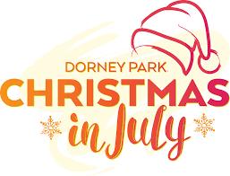 dorney park christmas in july