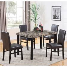 faux marble dining sets
