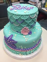 mermaid birthday cake mermaid birthday cake adrienne co bakery girl