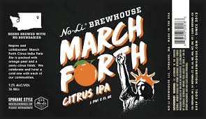 no li brewhouse releases march forth citrus ipa new beer