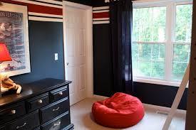 bedroom impressive boy bedroom decoration using red and blue cool