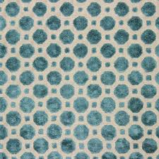 robert allen velvet geo turquoise fabric the fabric mill