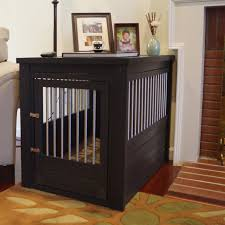 dog crate furniture diy dog kennels bench seat with storage and