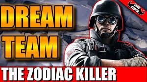 siege zodiac the zodiac killer rainbow six siege gameplay rounds