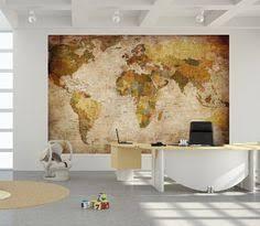 Decorative World Map Vintage World Map Canvas Print On Old World Old World Map 5