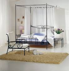 Canopy Curtains Bedroom Bedroom Endearing Stainless Steel Canopy Bed Design