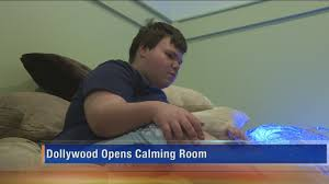 dollywood unveils autism calming room