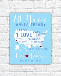 10 year anniversary gifts for men anniversary gifts for husband spouse 10 year