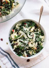 autumn kale salad with fennel honeycrisp cookie and kate