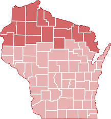Northern Wisconsin Map by Announcing Grants For Northern Wisconsin Wisconsin Humanities