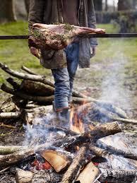 fire roast leg of lamb gill meller