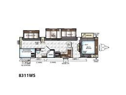 Rockwood Trailer Floor Plans by 2018 Forest River Rockwood Signature Ultra Lite 8311ws Murray Ut