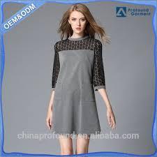 3 4 sleeve designer lady women u0027s net dresses woman casual