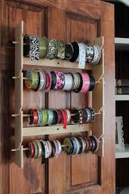 ribbon holders 267 best organize ribbon images on ribbon storage