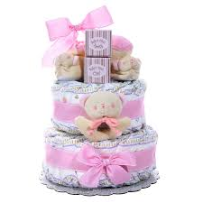 cake gift baskets baby cakes 2 tier cake girl gift baskets plus