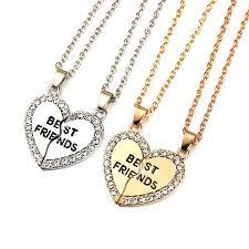 necklace accessories wholesale images Best friends forever pendant charm necklace jpg