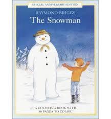 snowman coloring book raymond briggs 9780679892151