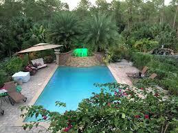 serene waterfalls garden privacy heated vrbo