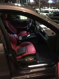 porsche macan 2016 interior garnet red black partial leather holla page 2 porsche macan