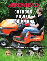 arrowhead electrical products outdoor power equipment catalog 2013