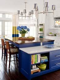 Blue Kitchen Island Our Ultimate Kitchens Marble Countertops Cobalt Blue And
