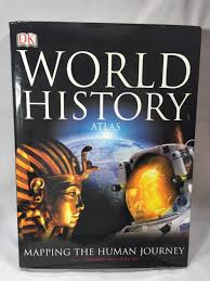 coffee table world history atlas dk publishing hard cover coffee