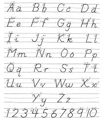 100 cursive alphabet worksheets free printable best 10