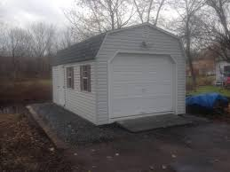 12 u0027x20 u0027 used vinyl dutch barn garage delivered to west stockbridge