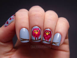 valentine u0027s owl nail art tutorial chalkboard nails nail art blog