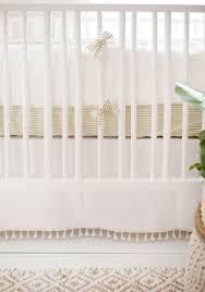 Gold Crib Bedding Sets White Crib Bedding Gold Nursery Baby Bedding