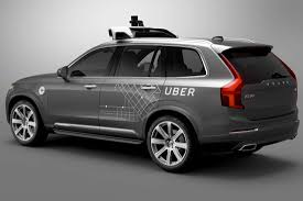 self driving car uber strikes deal with volvo to bring self driving cars to its