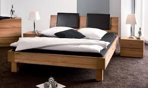 Modern Wooden Beds Modern Grey Bed Inside Modern Design Bedroom With Wood Headrest