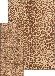 Area Rugs Miami Bedroom Well Woven Miami Cocoa Leopard Animal Print Brown 5x7 Rug