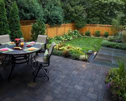 Small Backyard With Pool Landscaping Ideas by Charming Plan Design Ideas Of Backyard Landscape With Notched Pool