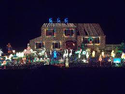 christmas light display christmas lights decoration