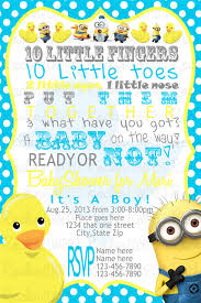 minion baby shower ideas attractive minion baby shower invitations as an ideas about