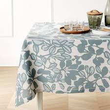 Mint Green Table Cloths Tablecloths Linen Cotton And Polyester Crate And Barrel
