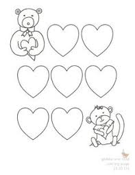 kids realistic valentines coloring pages love valentines