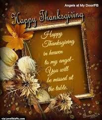 happy thanksgiving in heaven pictures photos and images for