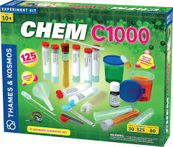 thames kosmos chem c1000 beginner chemistry experiment kit lab